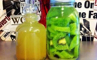 Настойка из киви на водке, спирту или самогоне, лучшие рецепты приготовления в домашних условиях