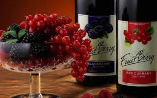 Обзор фруктовых вин