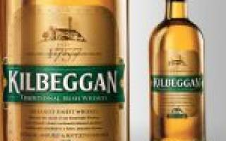 Виски Kilbeggan (Килбегген): описание, история, виды марки