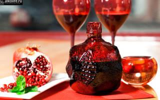 Гранатовое вино: история, состав, рецепт и правила пития