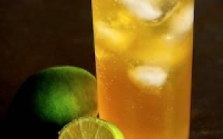 Коктейль Дарк энд сторми (Dark 'n — stormy cocktail) — излюбленный напиток Магеллана — Мир коктейлей для настоящих гурманов