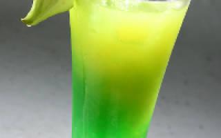 2 рецепта коктейля Зеленая фея (Green fairy cocktail) — Мир коктейлей для настоящих гурманов