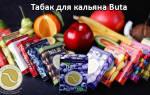 Иорданский табак для кальяна Buta (Fusion, Classic, Dark)