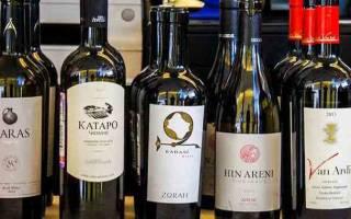 Обзор видов и марок армянских вин
