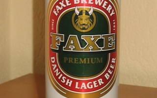 Примите факс (Faxe Premium) — Блог о пивных ресторанах Москвы, пиве и околопивной культуре