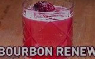 Коктейль Bourbon Renewal Возрождение Бурбона Рецепт: скачать mp3