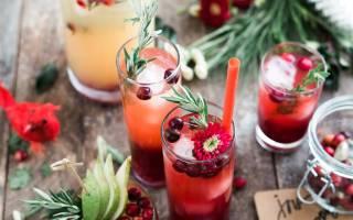 5 простых коктейлей с клюквой, которые можно приготовить за 10 минут