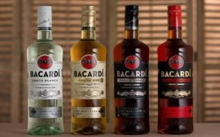 С чем обычно пьют ром Бакарди