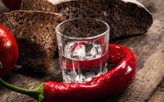 Водка с перцем от простуды (5 Рецептов, пропорции водки с медом, красным и черным перцем)