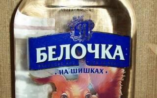 Отзыв о Водка Русинвест Белочка