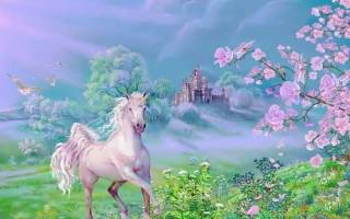 Unicorn in the Garden — English for everyone